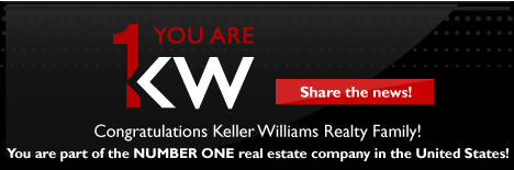 Keller Williams Reatly #1 in U.S.