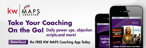 keller Willams real estate coaching app