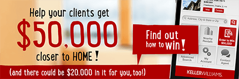 Keller Williams Mobile Search App Sweepstakes
